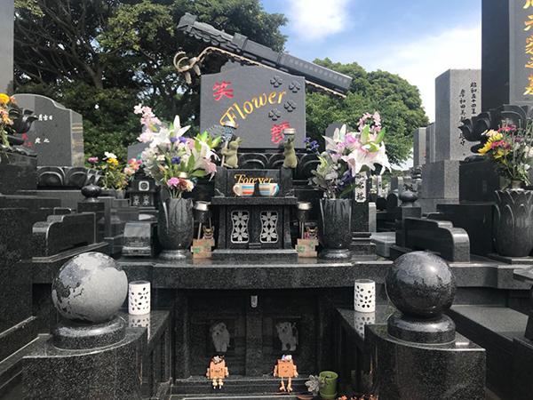 お墓のデザイン実績